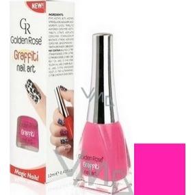Golden Rose Graffiti Nail Art crackling nail polish shade 18 12 ml