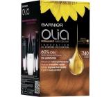 Garnier Olia Ammonia-Free Hair Color 7.40 Intensive copper