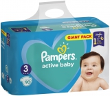 Pampers Active Baby Giant Pack 3 Midi 6-10 kg diapers 90 pieces