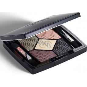 Christian Dior 5 Couleurs Christmas Edition paletka 5ti očních stínů 576 Eternal Gold 6 g