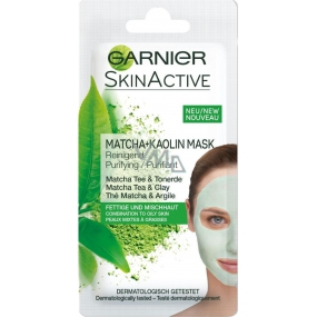 Garnier facial mask 8ml Matcha + Kaolin 2568