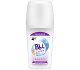 B.U. In Action Sensitive Invisible 48h kuličkový antiperspirant deodorant roll-on pro ženy 50 ml
