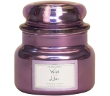 Village Candle Wild Lilac scented candle in glass 2 wicks 262 g