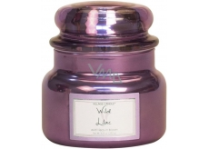 Village Candle Wild Lilac scented candle in glass 2 wicks 11oz burning time 55 hours 262 g