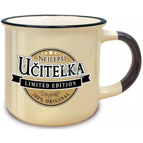 Nekupto Retro Mug with Best Teacher 250 ml