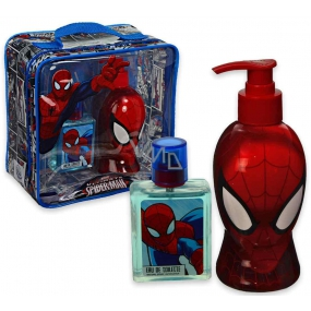 Marvel Spiderman EdT 50 ml Eau de Toilette + 250 ml shower gel dispenser, gift set