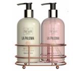 Scottish Fine Soaps La Paloma hand lotion 300 ml + liquid hand soap 300 ml, duo set