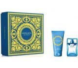 Versace Eau Fraiche Man eau de toilette for men 30 ml + shower gel 50 ml, gift set