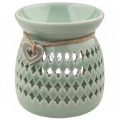 Aromalampa ceramic green 10 cm