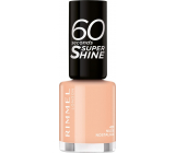 Rimmel London 60 Seconds Super Shine Nail Polish 401 Nude Nostalgia 8 ml