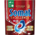 Somat Excellence 4 in 1 dishwasher tablets 32 pieces
