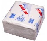 100 Series White Paper napkins 1 ply 33 x 33 cm 100 pieces