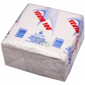 Series 100 Paper napkins white 1 ply 33 x 33 cm 100 pieces