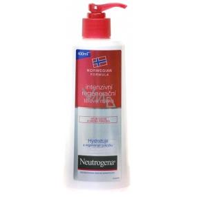 Neutrogena Intensive regenerating body lotion very dry, rough skin 400 ml