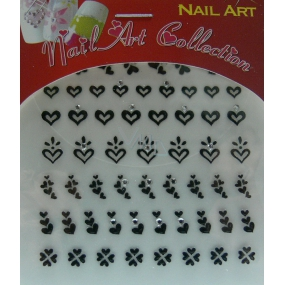 Absolute Cosmetics Nail Art self-adhesive nail stickers 3DS20B 1 sheet