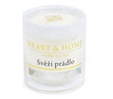 Heart & Home Fresh underwear Soy scented candle burns up to 15 hours 53 g