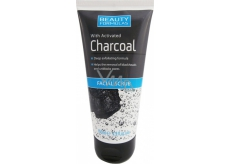 Beauty Formulas Charcoal Activated charcoal peeling for face and neck 150 ml