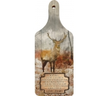 Bohemia Gifts Decorative hunting board Good luck Be always, with an original print 28 x 12 cm
