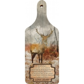 Bohemia Gifts & Cosmetics Decorative board Hunting success Be always, with original print 28 x 12 cm