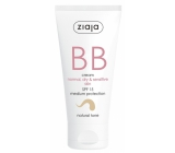 Ziaja BB SPF 15 cream for normal, dry and sensitive skin 02 Natural 50 ml