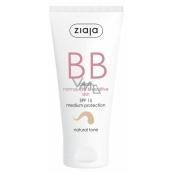 Ziaja BB SPF 15 cream for normal, dry and sensitive skin 02 Natural 50 ml