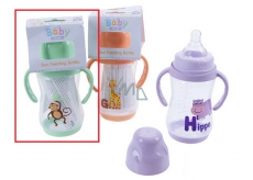 Child Bottle with Baby First Gloves 250ml Monkey 8770