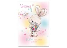 Ditipo Happy Birthday Greeting Dagmar Patrasova Bunny in her hole 224 x 157 mm