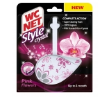 WC Net Crystal Style Pink Flowers curtain 36.5 g