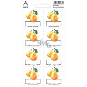Arch Stickers for Preserving Pears Natural product 3437 8 labels
