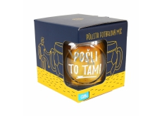 Albi Beer Mug Send it there 500 ml