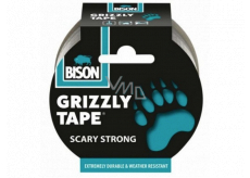 Bison Grizzly Tape adhesive repair tape silver, tape width: 50 mm with a 10 m long roll