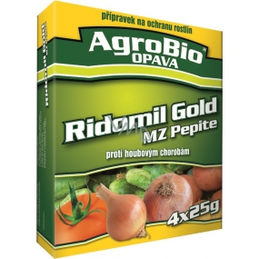 AgroBio Ridomil Gold MZ Pepite fungicide plant protection product 3 x 5 g