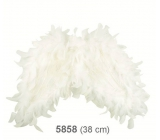 Angel wings made of feathers 38 cm