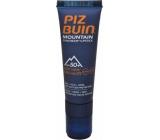 Piz Buin Mountain SPF50 Sun Cream 20 ml + SPF30 Lipstick 2,3 ml Duopack