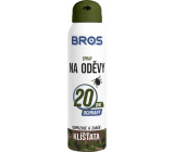 Bros Repellent against ticks on clothes repels and kills spray 90 ml