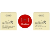 Ziaja Saffron - Safron 60+ Smoothing Day Cream 50ml + Saffron - Saffron 60+ Nutritive & Firming Night Cream 50ml for duopack