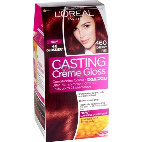 Loreal Paris Casting Creme Gloss hair color 460 strawberry eper