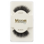 Bloom Natural Curly Eyelash Eyelash Curly Black No. 117 1 Pair