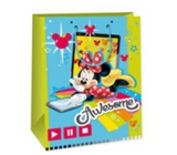 Ditipo Disney Gift Paper Bag for Kids Minnie Awesome 33 x 10.2 x 45.7 cm