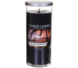 Yankee Candle Black Coconut Décor large cylinder glass 75 mm 566 g