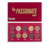 Makeup Obsession Be Passionate About palette of 10 eye shadows in a combination of colors for easy shading 13 g