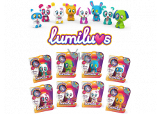 Alltoys Lumiluvs animal shines and gossips after blowing on tummy and baby various species 42 x 20 x 17 cm