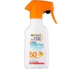 Garnier Ambre Solaire Resisto Swim Kids OF50 200 ml sunblock for children
