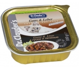 Dr. Clauders Goose with liver with pieces of meat in cat sauce 100 g