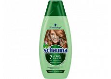 Schauma 7 Herbal shampoo for normal to oily hair 250 ml