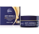 Nivea Anti-Wrinkle + Revitalizing 55+ Renewing night cream against wrinkles 50 ml