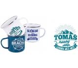 Albi Tin mug with the name Tomáš 500 ml
