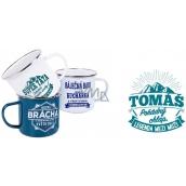 Albi Tin mug named Tomáš 250 ml