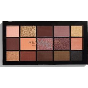 Makeup Revolution Re-Loaded Velvet Rose Eye Shadow Palette 15 x 1.1 g