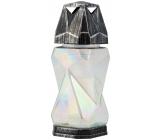 LAMP glass 32cm 7D square 1232